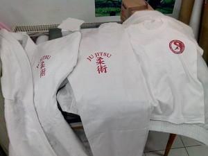 kimono karate inscriptionat