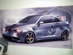 Poster autocolant BMW