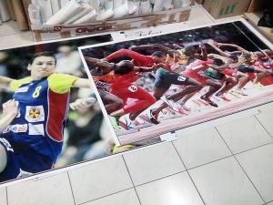 Poster sportivi alergand