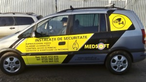 Inscriptionare masina MedSoft