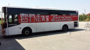 Autobuz inscriptionat Est News