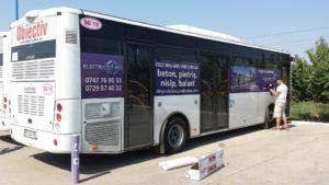 Autobuz inscriptionat Electricopet