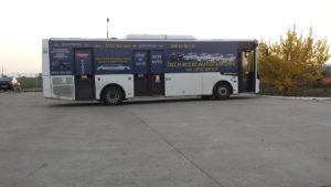 Autobuz inscriptionat Gold Box casa amanet Barlad
