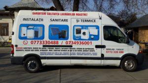 duba inscriptionata instalatii sanitare si termice